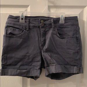 So Midi Grayish-Blue Shorts